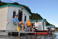 Amazon Fishing Fly-In Floating Cabins